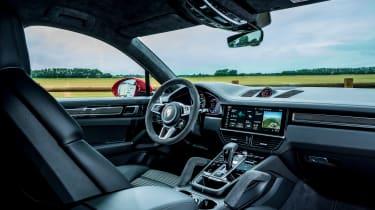 Porsche Cayenne Coupe GTS – cabin