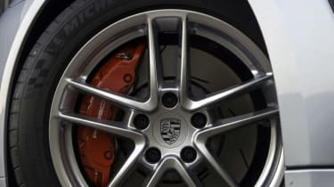New Porsche Panamera Turbo alloy wheel