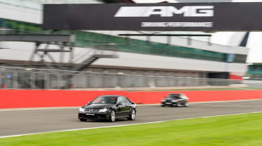 Mercedes-Benz CLK63 AMG Black Series and Mercedes-Benz 190E 3.2 AMG
