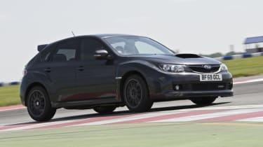 Subaru Impreza Cosworth CS400 cornering