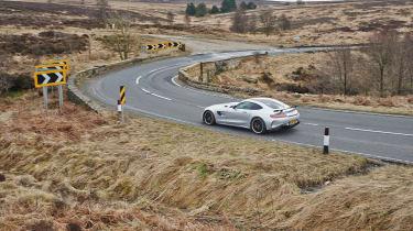 Yaris GRMN winding road