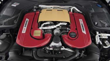 Brabus 650 Cabrio engine