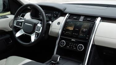 Land Rover Discovery 5 2021 - interior
