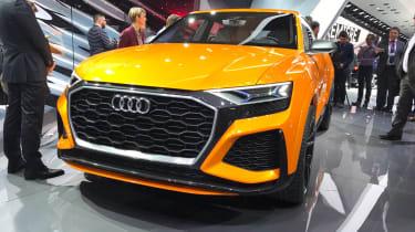 Audi Q8 sport concept - Geneva front three quarter