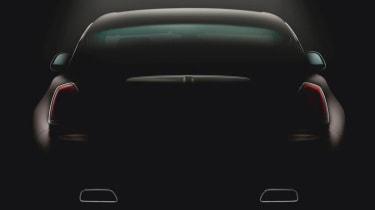 Rolls-Royce Wraith third teaser image rear view