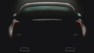 Rolls-Royce Wraith third teaser image rear view