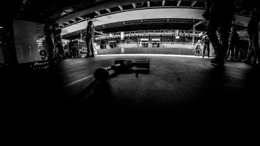 Porsche pit garage FIA WEC
