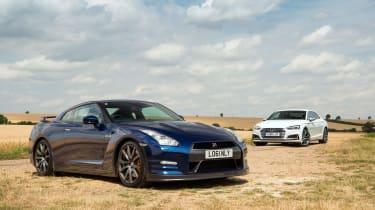 Nissan GT-R vs Audi S5
