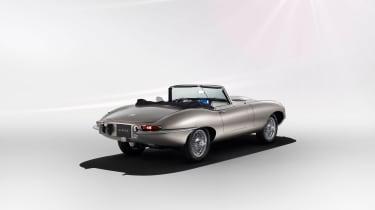 Jaguar Classic E-type Zero production - Rear