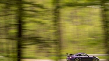 Porsche 911 GT3 RS - forest