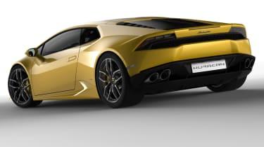Lamborghini Huracan LP610-4 yellow