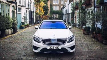 Mercedes-Benz S-class – front
