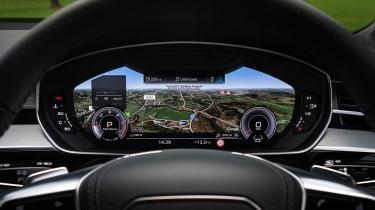 Audi A8 – virtual cockpit