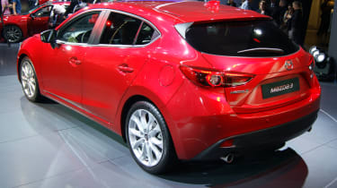 Mazda 3 UK prices and pictures: Frankfurt motor show 2013