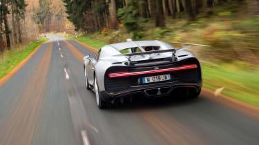 Bugatti Chiron – rear