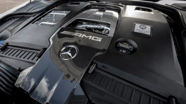 Mercedes S-class - engine