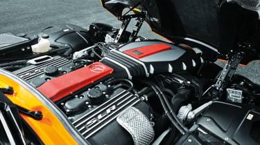 McLaren Edition Mercedes SLR engine