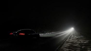Audi R8 LMX night drive - lighting