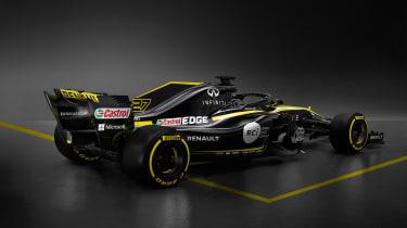 Renault 2018 car - rear