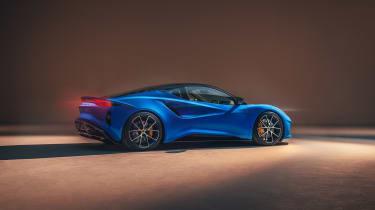 Lotus Emira (press) – rear quarter