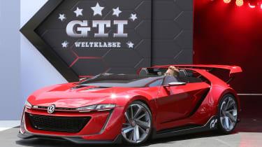 Volkswagen GTI Roadster Vision GT