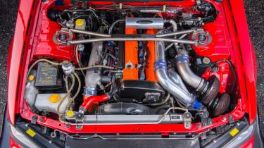 Nissan GT-R collector - engine bay