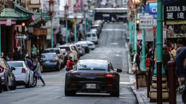 Porsche 911 final testing - rear