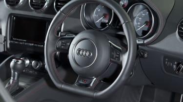 Audi TTS steering wheel