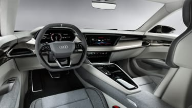 Audi E-tron GT Concept - dash