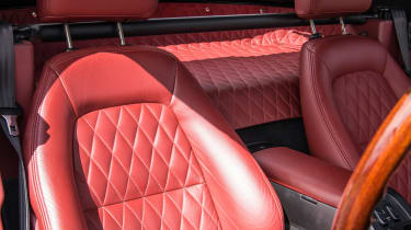 Mazda MX-5 Rocketeer seats