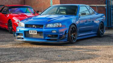 Nissan GT-R collector - blue GT-R