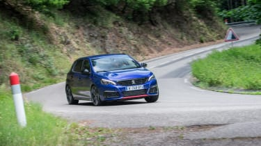 Peugeot 308 GTi by Peugeot Sport - front driving 2