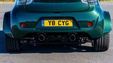 Aston Martin Cygnet V8 - rear pipes