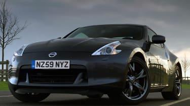 Nissan 370Z Black front