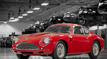 Aston Martin DB4 Zagato continuation - front