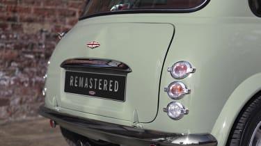 David Brown Automotive Mini Remastered rear