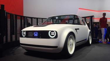 Honda Urban EV Concept live - front quater