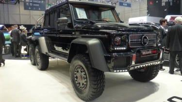 Geneva tuners: Brabus G-Wagen