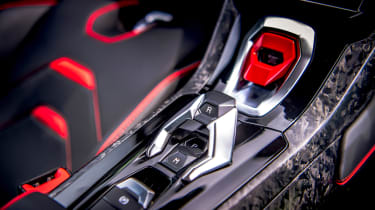 Lamborghini Huracán Evo RWD – start stop button