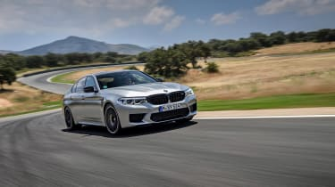 BMW M5 Competition review - front quarter