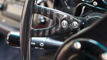 Pagani Zonda Cinque gear shift paddle