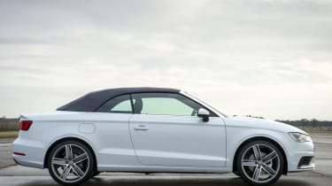 Audi A3 Cabriolet roof up closed