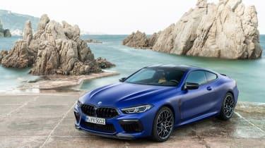 BMW M8 Competition - front quarter