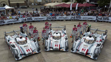 Audi grid lock-out at Le Mans
