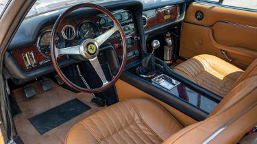 Ferrari 330 shooting brake interior