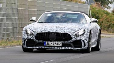 Mercedes-AMG GT R roadster spy - front