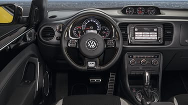 New Volkswagen Beetle GSR interior dashboard
