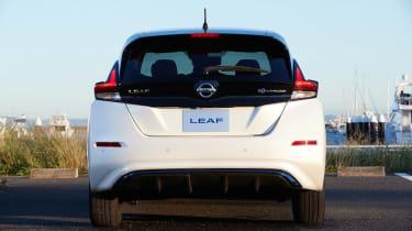 Nissan Leaf drive Japan - rear
