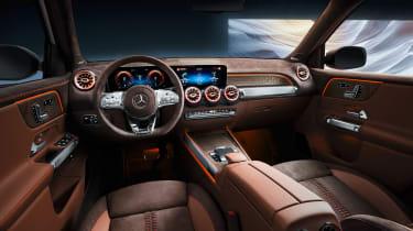 Mercedes GLB Concept - dash