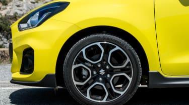 Suzuki Swift Sport – wheel
